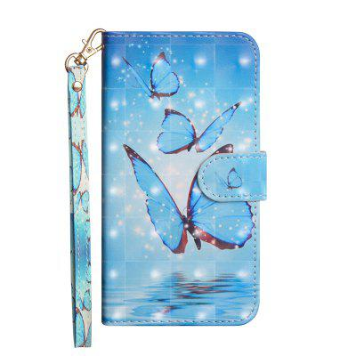 3D Painted Luxury Flip Wallet Leather Case for Leagoo M8 / Leagoo M8 Pro