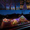 colorful Solar String Lights 100 LED Fairy 10M Outdoor Indoor Decorative - MULTI
