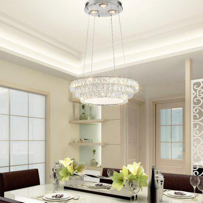 Designer Creative Three Color Switch Crystal Pendant Lamp