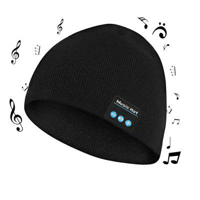Wireless Bluetooth Music Beanie Hat with Stereo Headphone Speaker Microphone