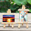 Simple Creative Tripod Solid Wood Horizontal and Vertical Photo Frame Decoration - MULTI-A