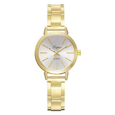 Fashion Simple Diamond Exquisite Scale Time Wristwatch