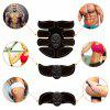 HANDISE Abdominal Muscle Trainer Electronic Muscle Exerciser Machine - GRAPHITE BLACK