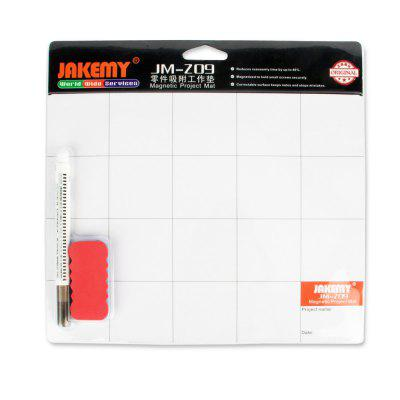 Magnetic Project Mat Screw Work Pad with Marker Pen for Cell Repair Tools Mat