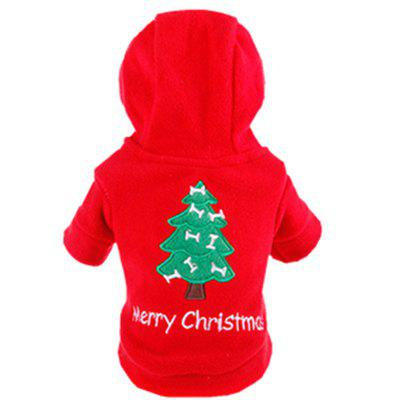 Teddy Pet Dog Christmas New Year Clothes
