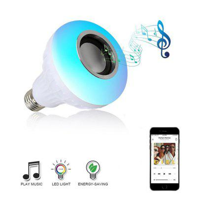 LED Light Smart Wireless Bluetooth Stereo Speaker Bulb Music Lamp Remote Control