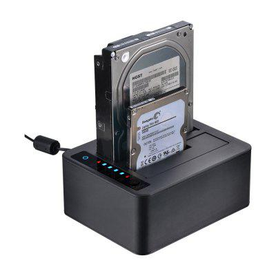 UNESTECH UT5520 USB 3.0 to 2.5/3.5 SATA HDD Docking Station with Clone Function