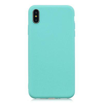 for iPhone XS Mobile Phone Liquid Silicone Protective Phone Case