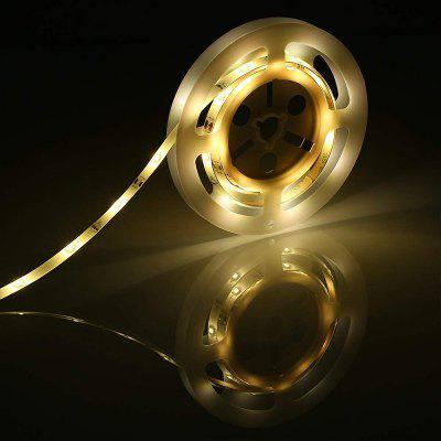 PIR 2 Motion Sensor LED Strip Kast Licht Onder Bed Lamp Tape Gang Keuken