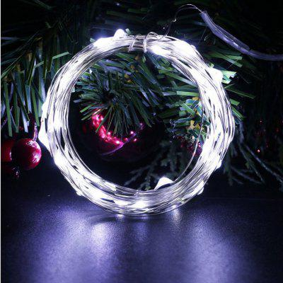OMTO  5M 10M Led String Lights Waterproof  3AA Battery Holiday lighting