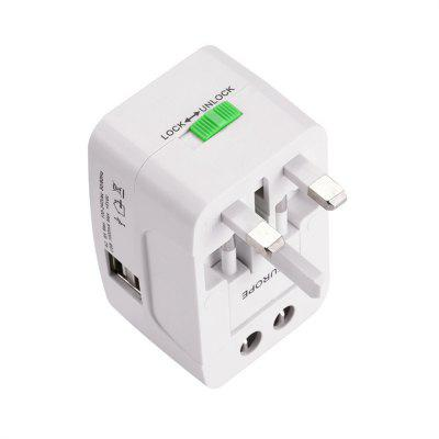 Plug Socket Adapter International Travel Adapter USB Power Charger