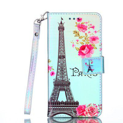 for Xiaomi Redmi NOTE5A  Mobile Phone Case Blue Ray Color Painted Leather Cover