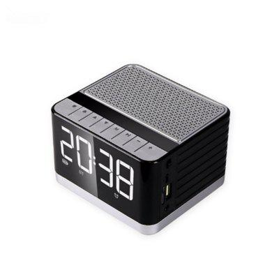 HIFI Sound Quality Clock With LED Display Bluetooth Speaker