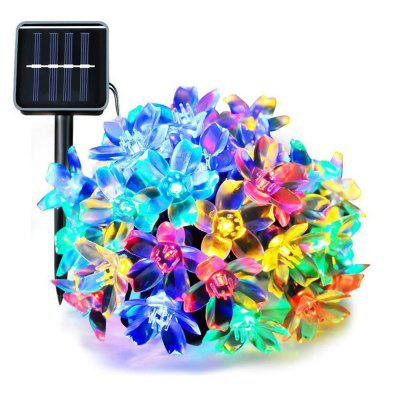 50 LED Flower Waterproof Christmas Tree Light Party New Year Decoration Lights