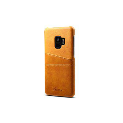 Leather Wallet Vintage Card ID Holder Slot Slim Case for Samsung Galaxy S9
