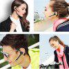 Earphone Business Wireless Bluetooth Stereo Universal One Driving Two Multi Func - BLACK