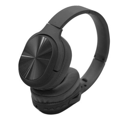 Stereo Bluetooth Headphone with MIC FM Support TF Aux in Play Build in 6MODE EQ