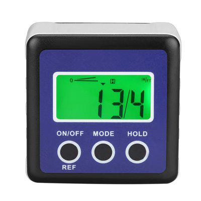Digital Inclinometer Level Box Protractor Magnetic Angle Finder