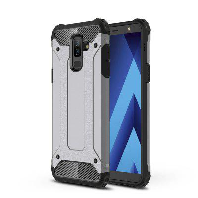 2 in 1 Hybrid Heavy Duty Armor Hard Back Case for Samsung Galaxy J8 2018