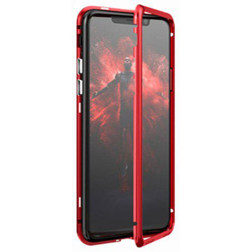 great fit 000c2 a4134 Built-in Magnetic Case for iPhone XR HD Tempered Glass Magnet Adsorption