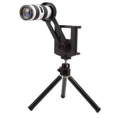 Low Cost Wireless camera 12 times ordinary mobile phone telescope lens