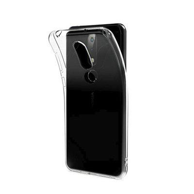 Soft Flexible TPU Silicone Protective Coverfor Nokia 6.1 Plus (2018) / X6