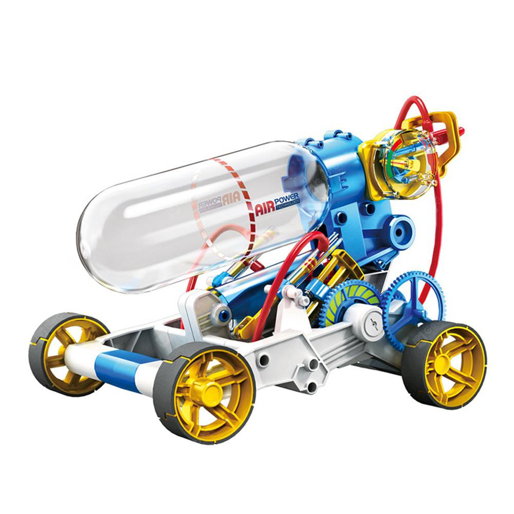 Children'S Science Qizhi DIY Toy Aerodynamic Engine Car - MULTI-A