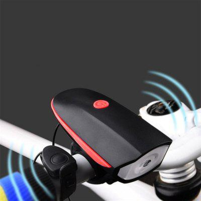 Rechargeable Led Bike Light Set - Bicycle Headlight with Bike Horn + Tail Light