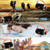 Speaker Wireless Bluetooth Portable Outdoor Support TF Card - BLACK