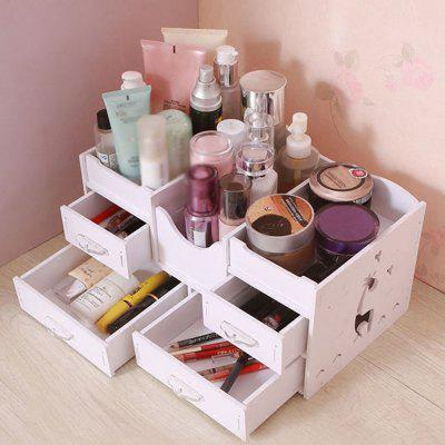 Drawer desktop cosmetic storage box