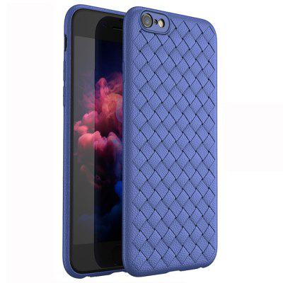 Grid Weaving Super Soft Cases for iPhone 6 6S Plus Cover Silicon Accessories