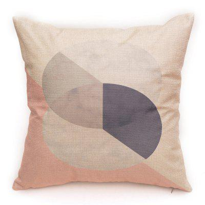 PCM029 Color Matching Square Linen Throw Pillow Cover