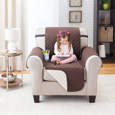 Single Seater Couch Coat Reversible Waterproof Slipcover Sofa Cover for Kid Pet