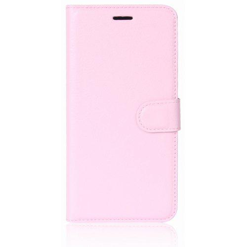 Litchi-Printed Left and Right Flip Phone Case for Nokia 6 2018 - $4.51 Free Shipping|GearBest.com