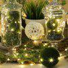 Fairy Lights String Battery Waterproof 8 Modes Remote Control 100 Led 32.8 Ft - GOLD