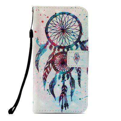 Dream Catcher 3D Painted PU Mobile Phone Case for Huawei Mate 20 Lite
