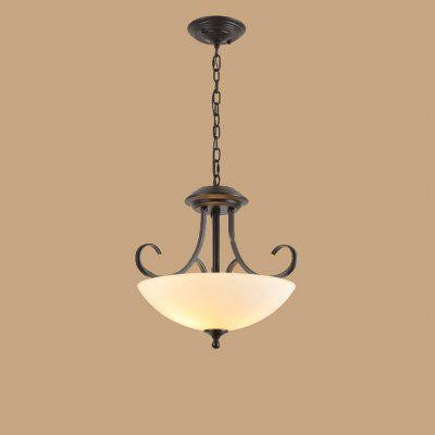 Jueja American Retro Style Pendant Lights Suspension Led Lamp