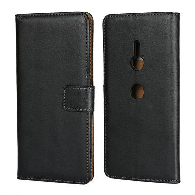 Phone Wallet Flip Magnetic Leather Case for Sony Xperia XZ3