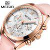 MEGIR 2115 Fashion Trend Japan Imported Movement Multifunctional Women Watch - PINK