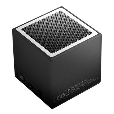 DiPRO 5W TWS Cube Wireless Speaker with Stereo Bluetooth Receiver Adaptor