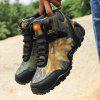 High-top Outdoor Camouflage Hiking Shoes for Men - SAND
