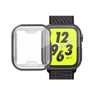 TPU Soft All-Around Ultra-Thin Plating Cover Case for Apple Watch Series 4