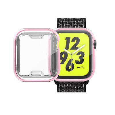 TPU Soft All-Around Ultra-Thin Plating Cover Case для Apple Watch Series 4