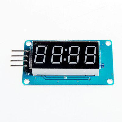 Módulo de Display de 4 dígitos LED para Arduino - Preto + Azul