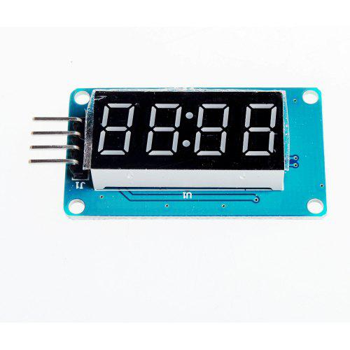 LED 4-Digit Display Module for Arduino - Black + Blue