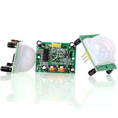 3Pcs HC-SR501 Pir Motion IR Sensor Body Module Infrared for Arduino