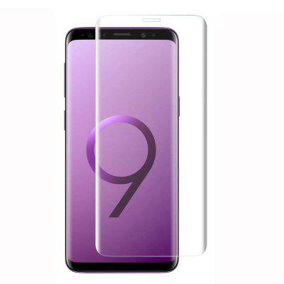 2 PCS Screen Protector for Samsung Galaxy S9 Plus HD 3D Arc Edge Tempered Glass