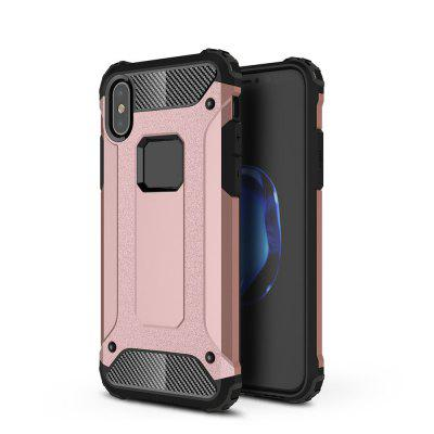 2 in 1 Hybrid Heavy Duty Armor Hard Back Case for iPhone XS/ iPhone X