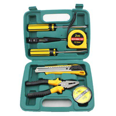 Multi-functional 7 in 1 Hardware Tool Kit Car Emergency Set Repair Combination o