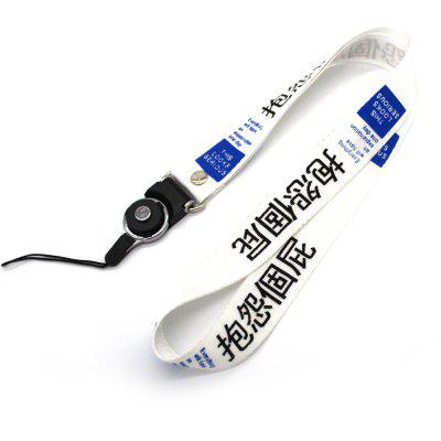 Detachable Neck Lanyard Hanging Mobile Phone Rope-10